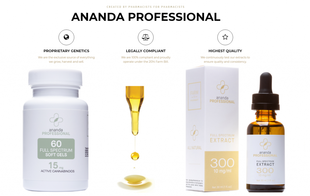 Featured Line: Ananda CBD Therapy