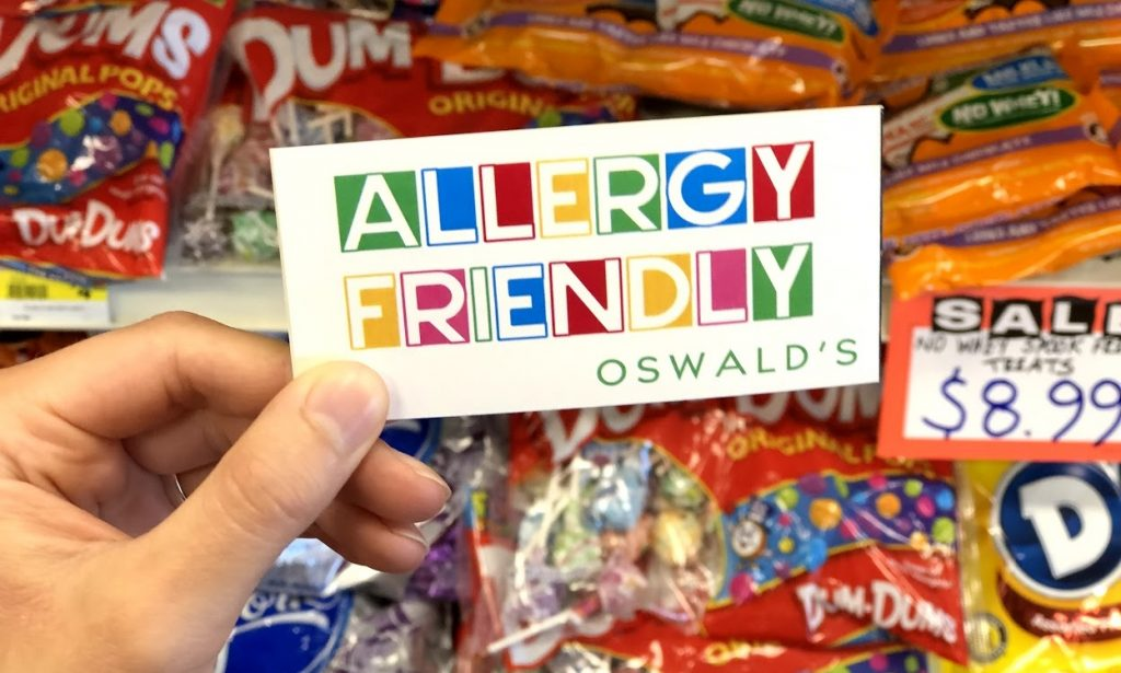 Children's Food Allergies and Halloween