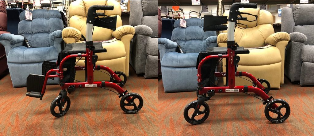 Featured Product: Juvo Rollator-Transport Chair