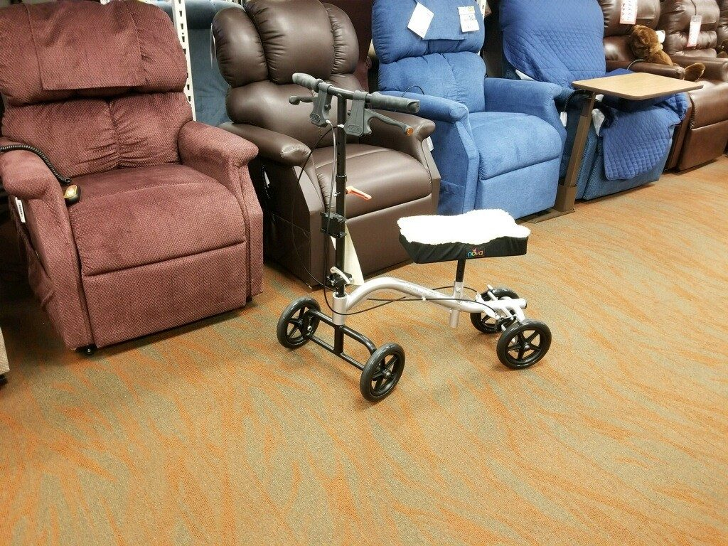 Need a Better Alternative to Crutches? Try a Knee Scooter!