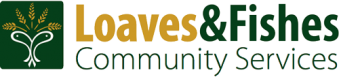Loaves & Fishes Logo. Oswald's Pharmacy Community Partners Page