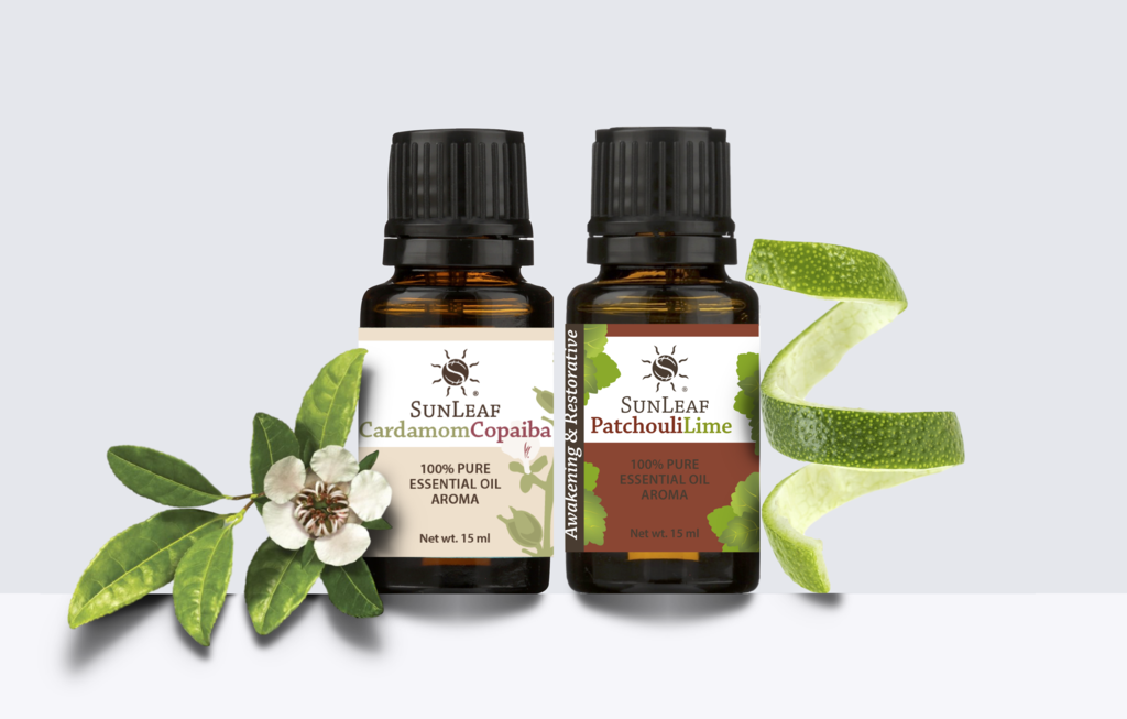 Essential Oil Cleaning with Sunleaf Naturals