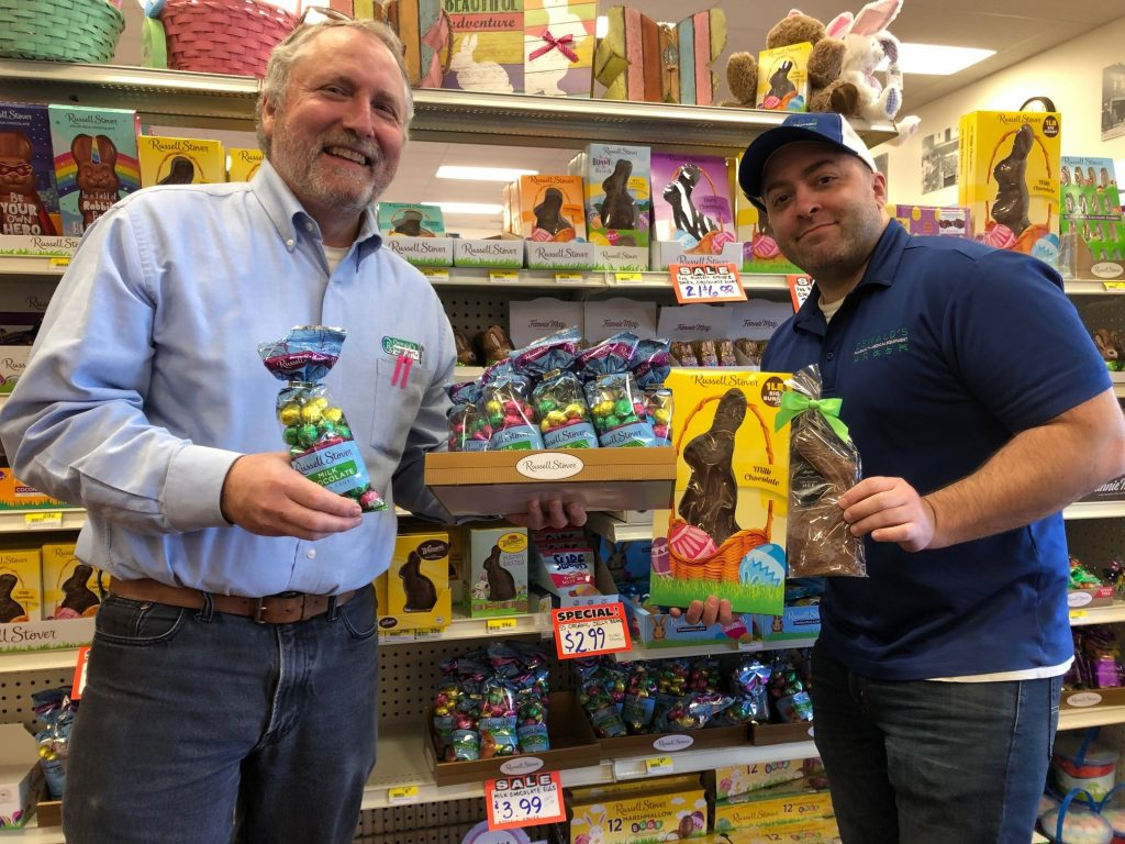 Get Your Easter Candy at Oswald's