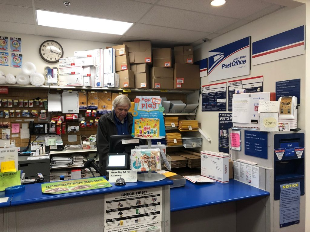 Naperville's Best Post Office is at Oswald's Pharmacy