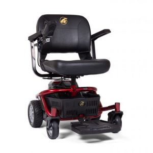 Power Chair Rental Category default image. A Golden Literider Envy model in red.