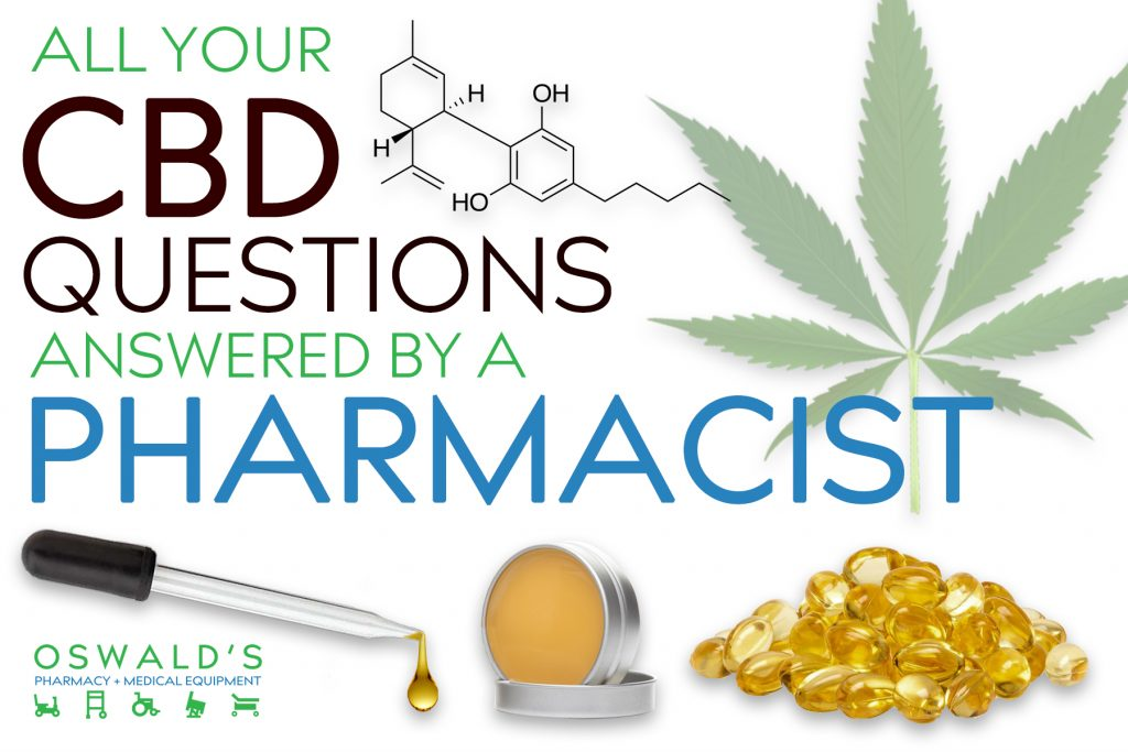 All Your CBD Questions Answered by a Pharmacist
