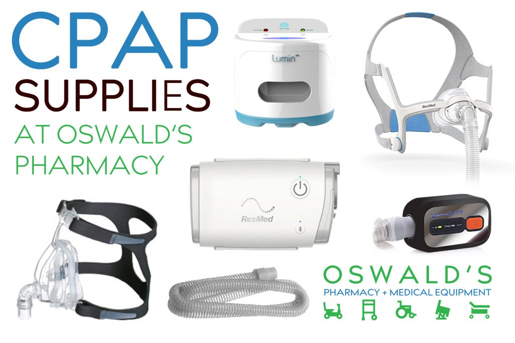 CPAP Supplies at Oswald's Pharmacy
