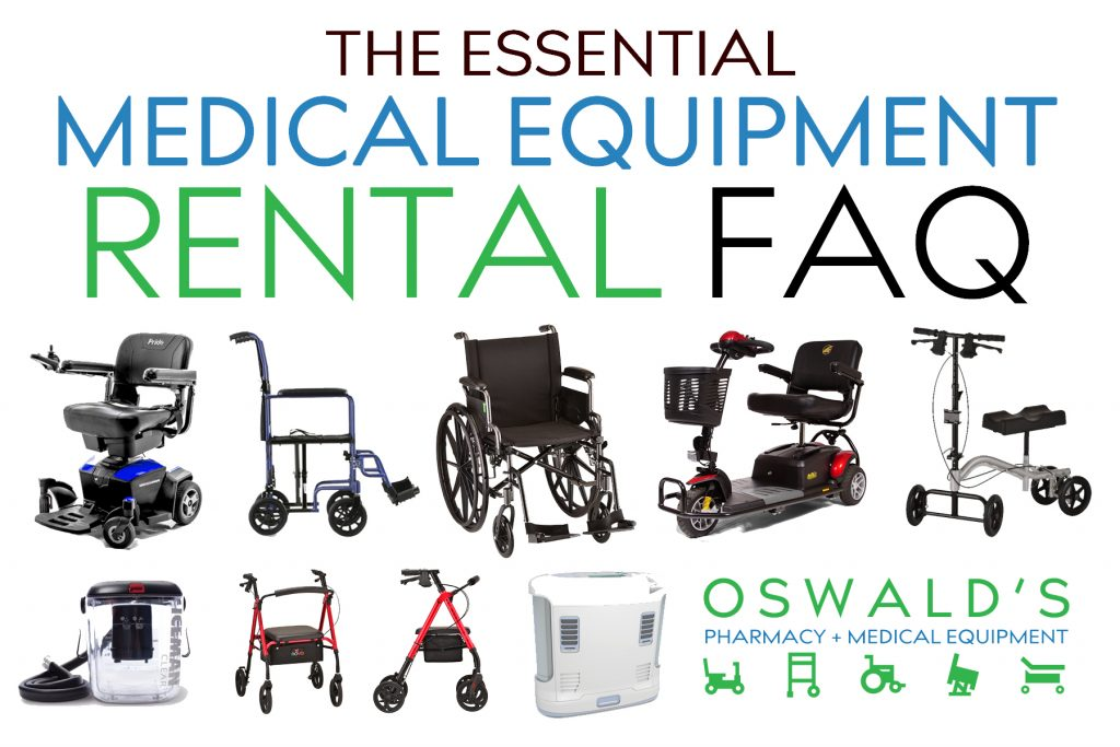 The Essential Medical Equipment Rental FAQ