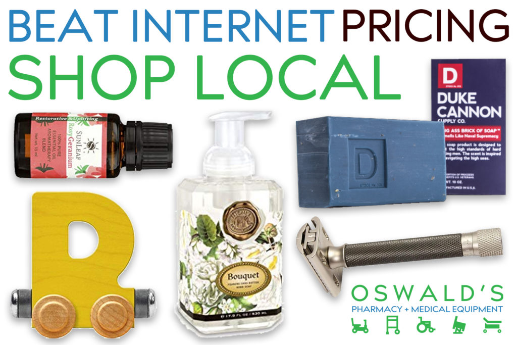 Beat Internet Pricing: Shop Local!