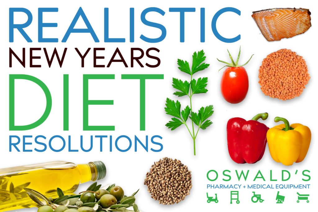 Realistic New Years Diet Resolutions