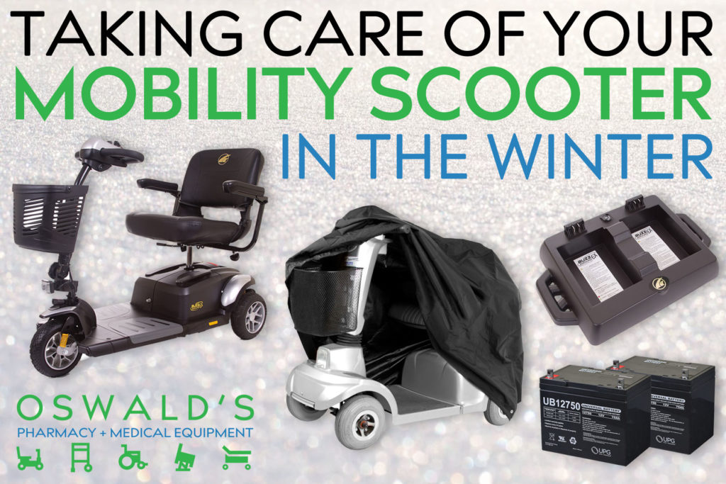 Taking Care of Your Mobility Scooter in the Winter
