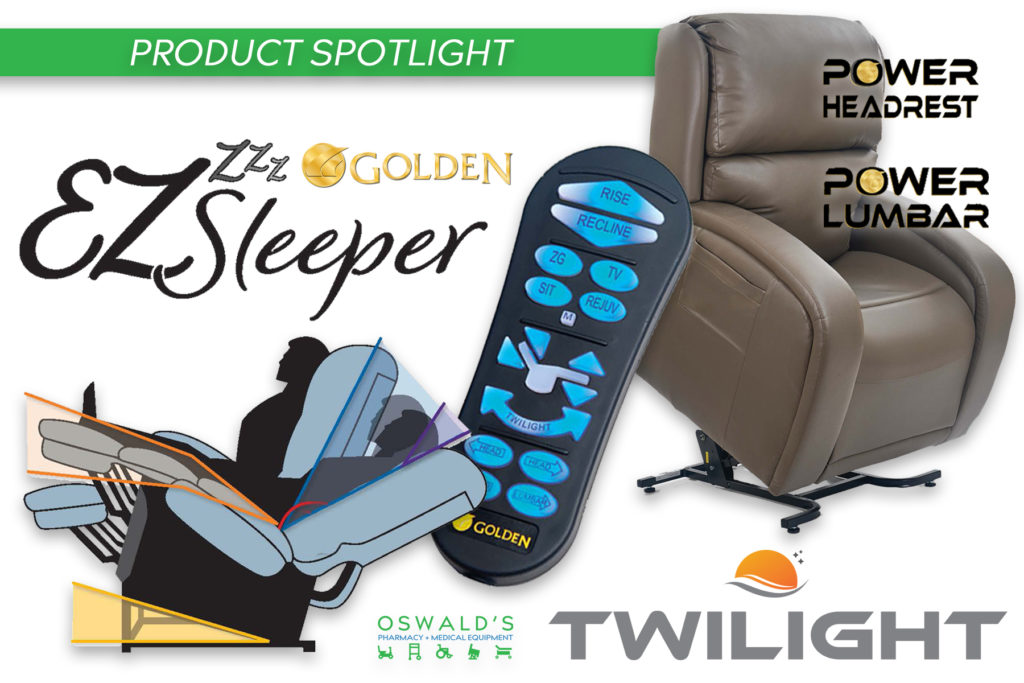 Product Spotlight: Golden EZ Sleeper Lift Chair