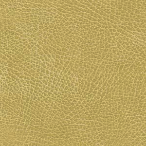 Golden Buckskin Brisa Fabric Swatch. A smooth, faux-leather light tan fabric.