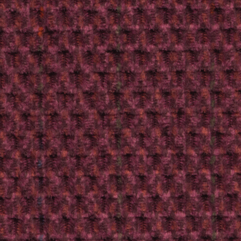 Golden Cabernet Fabric swatch. A lightly textured dark red fabric.