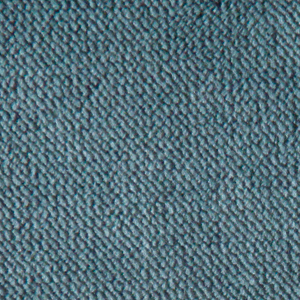 Golden Calypso Fabric swatch. A smooth medium blue fabric.