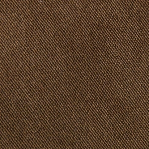 Golden Copper Fabric swatch. A smooth medium brown fabric.