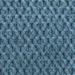 Golden Cornflower Fabric swatch. A lightly textured light blue fabric.