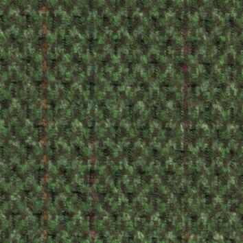 Golden Evergreen Fabric swatch. A lightly textured dark green fabric.