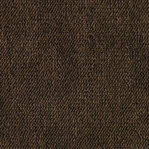 Golden Hazelnut Fabric swatch. A smooth dark brown fabric.
