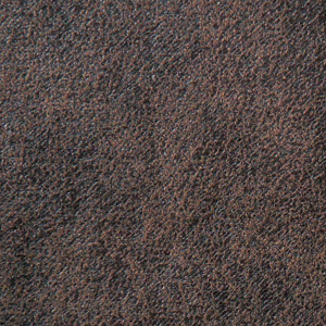 Golden Mahogany Fabric swatch. A lightly textured dark gray/brown fabric.