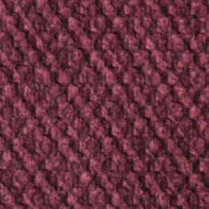 Golden Rosewood Fabric swatch. A lightly textured deep red fabric.