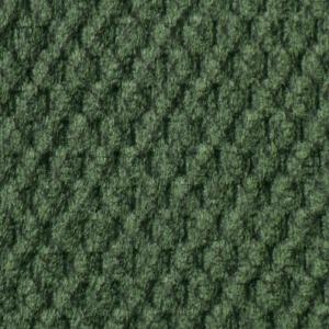 Golden Spring Fabric swatch. A lightly textured dark green fabric.