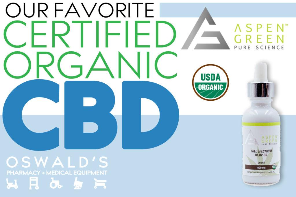 Aspen Green CBD: Organic & Certified