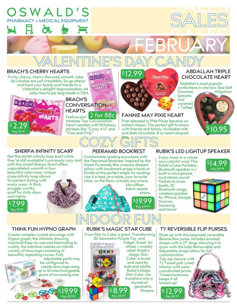 February 2020 Sales Flyer FRONT