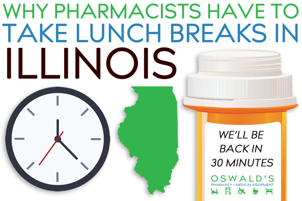 Why Pharmacists Have to Take Lunch Breaks in Illinois