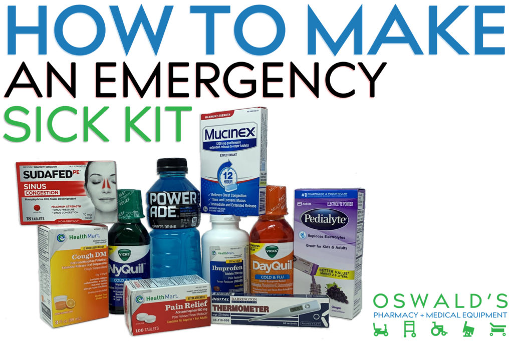 How to Make an Emergency Sick Kit