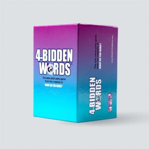 4-Bidden Words game. Box shown.