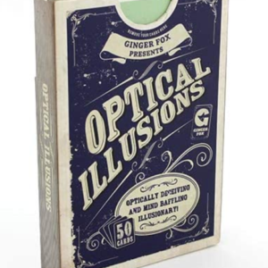 Ginger Fox Optical Illusions Cards. Box shown.