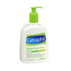 Cetaphil Moisturizing Lotion 16oz. Pump bottle shown.