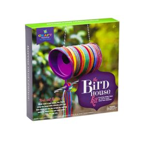 Craft Tastic Bird House Kit. Box shown.