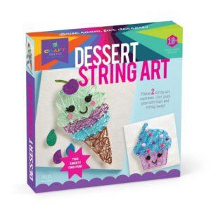 Craft Tastic Dessert String Art Kit. Box shown.