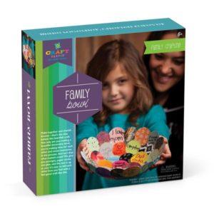Craft Tastic Family Bowl Kit. Box shown.