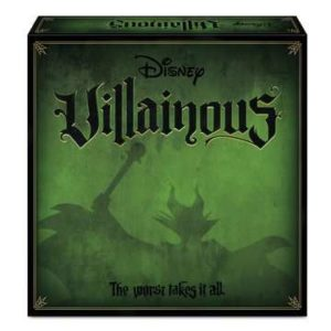 Disney Villainous Board Game. Box shown.