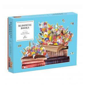 Galison Blooming Books Puzzle 500pc. Box shown.