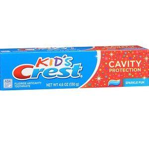 Kid's Crest Toothpaste Fun Sparkles 4.6oz. Box Shown
