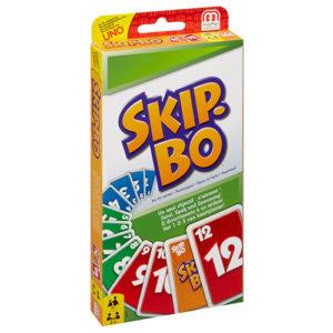 Skip-Bo Card Game. Box shown.