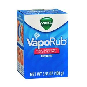 Vicks VapoRub 3.53oz. Jar shown.