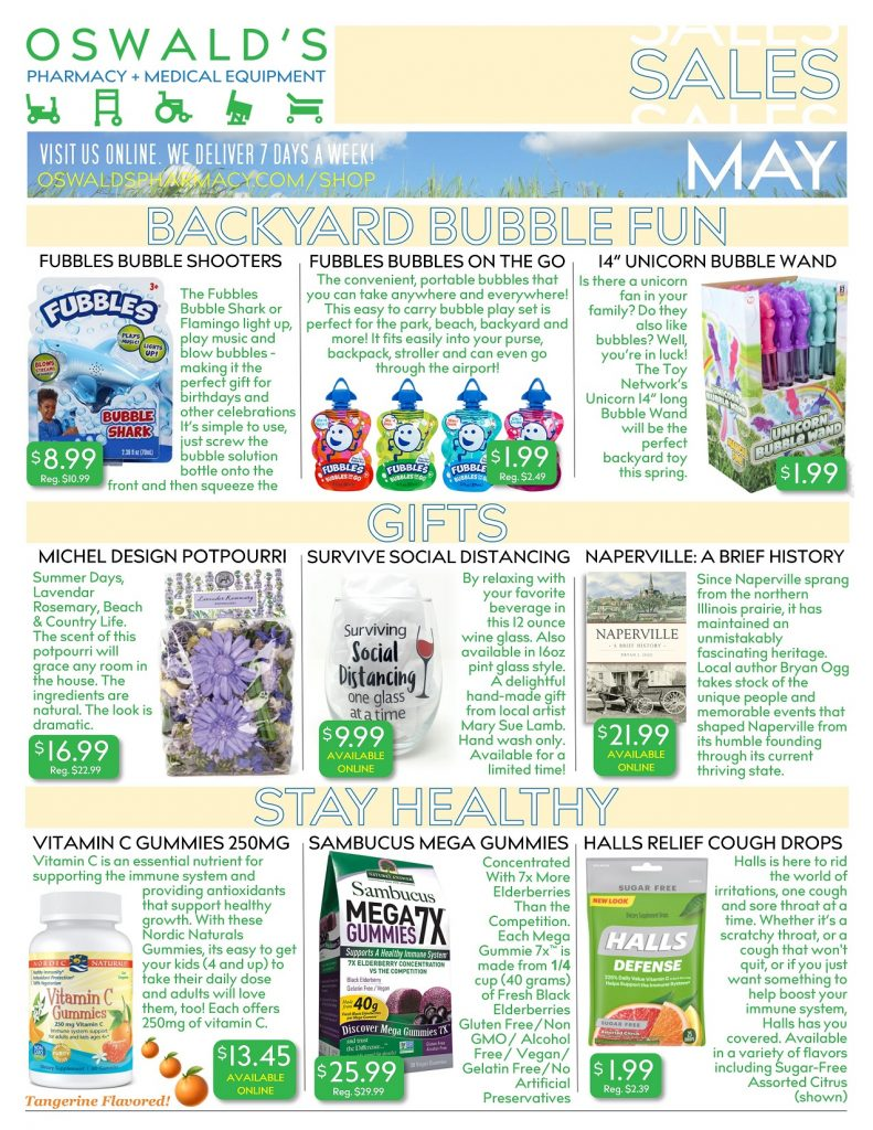 May 2020 Sales Flyer FRONT