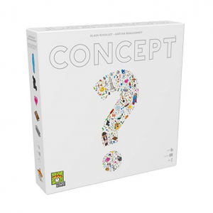 Concept Board Game. Box shown.