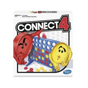 Connect 4 game. Box shown.