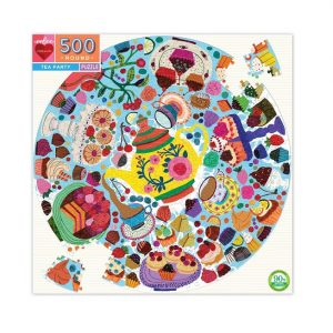 eeBoo Tea Party 500pc Puzzle. Box shown.