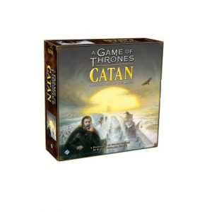 Game of Thrones Catan board game. Box shown.