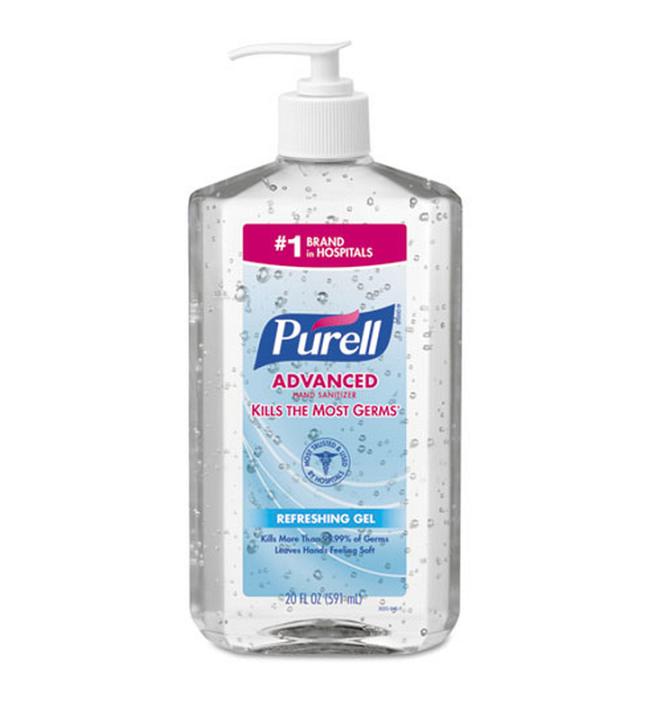 Purell 20oz Pump. Bottle shown.