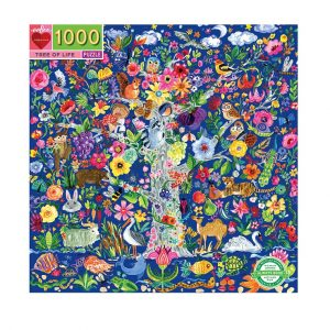 eeBoo Tree of Life 1000pc Puzzle. Box shown.