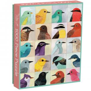 Galison Avian Friends 1000pc Puzzle. Box shown.