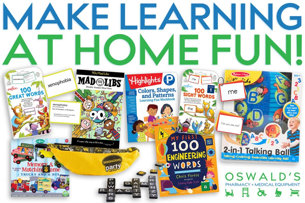 Make Learning at Home Fun!